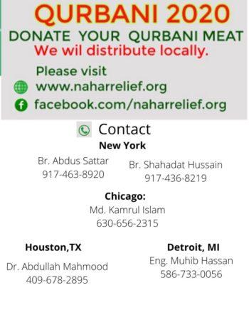 Qurbani Distribution Locally